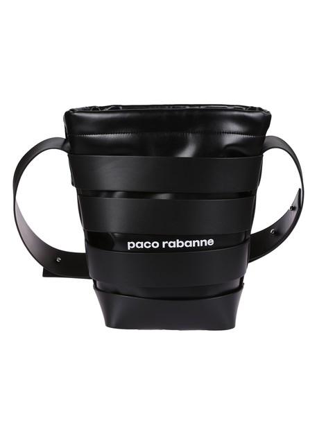 Paco Rabanne bag bucket bag black