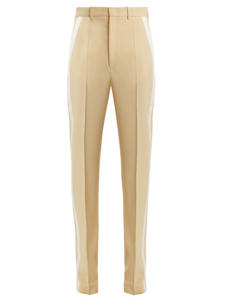 Joseph wool light yellow pants