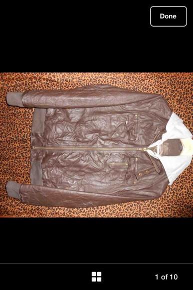 jacket leather jacket