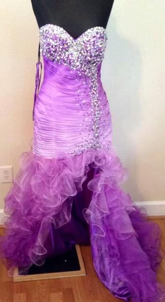 dress purple dress 2014 prom dresses prom dress long