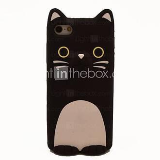 phone cover cats iphone cat phone case black cute cute cat cat iphone case