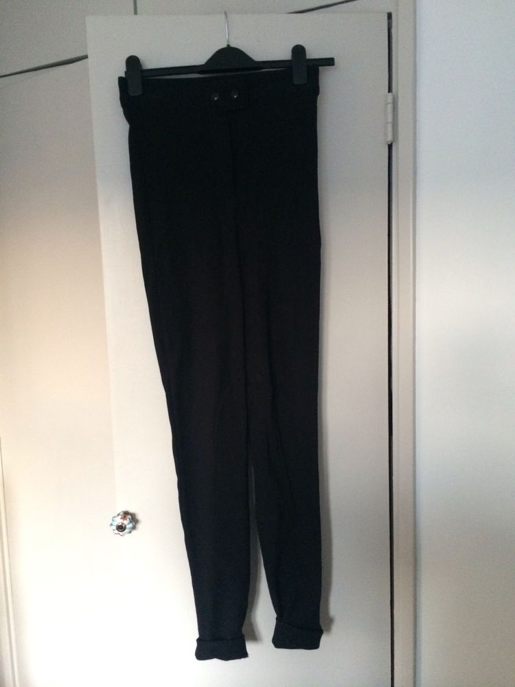 American Apparel Black Riding Pants Size L | eBay
