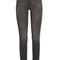 Body-con skinny high-waisted denim jeans