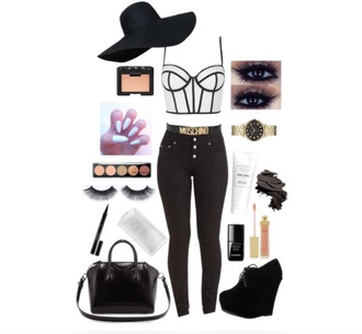 top winged eyeliner white black black boots little black boots black booties suede boots toothbrush gold white nails make-up accessories prada moschino shoes wedges wedge sandals shoes black wedges wedge booties black wedges
