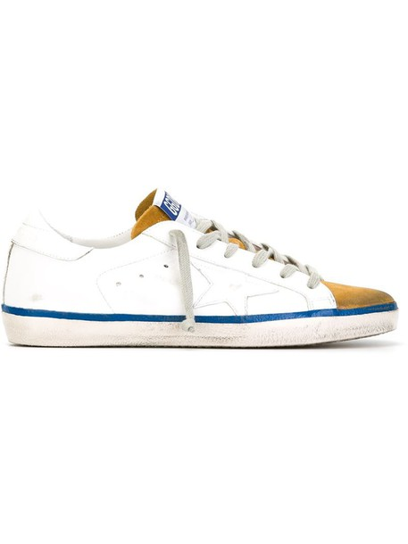 GOLDEN GOOSE DELUXE BRAND women sneakers leather white suede shoes