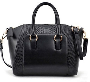 Free shipping fashion bags 2014 women's nubuck leather patchwork handbag smiley bag shoulder bag women's bags
