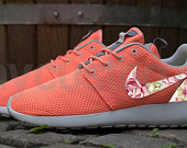 Items similar to Nike Roshe Run Rosy pattern on Etsy, a global handmade and vintage marketplace.