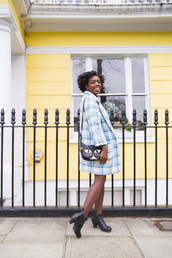 i want you to know,blogger,cat bag,wool coat,grid