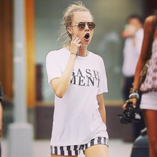 t-shirt cara delevingne