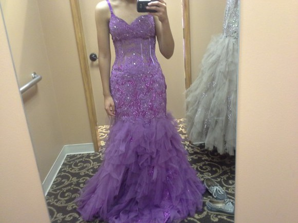 dress jovani prom dress mermaid prom dresses purple dress