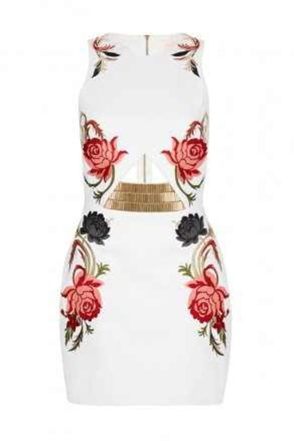 dress floral dress sexy elegant