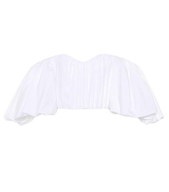 ellery top cotton white
