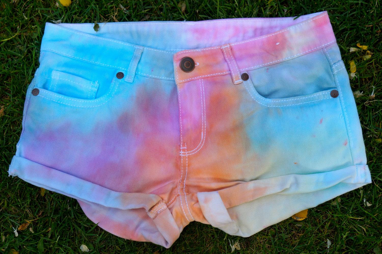 Tie-dye Shorts Womens 6