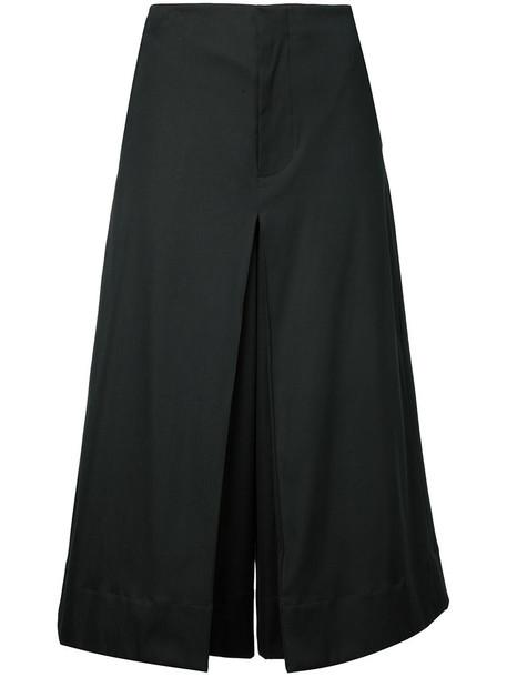 BASSIKE pants cropped pants cropped women cotton black