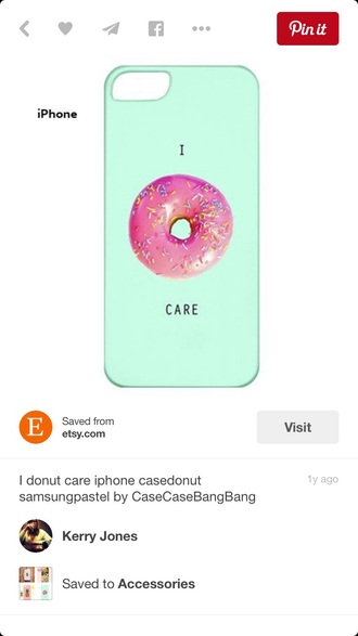 phone cover quote on it phone case donut