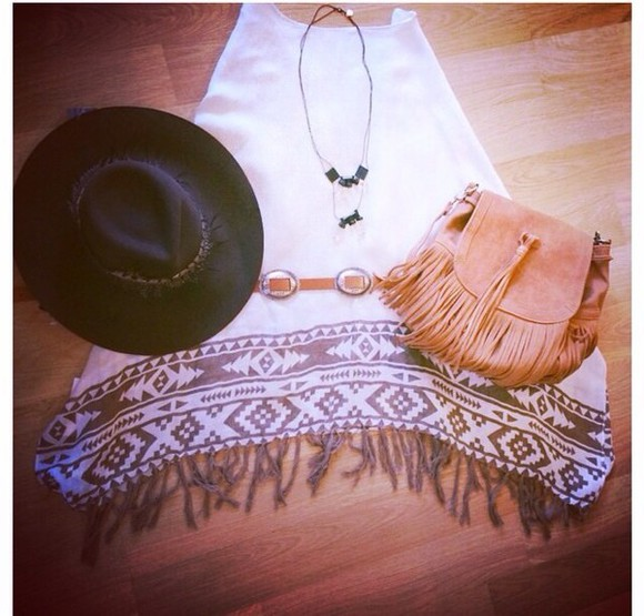 dress boho aztec boho chic fringe