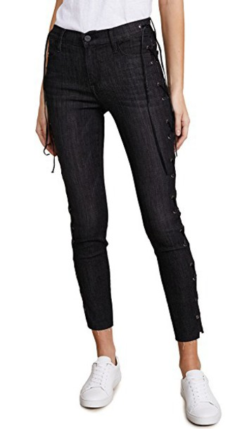 FRAME jeans high lace