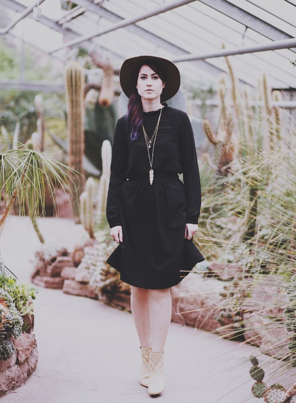 like a riot blogger blouse jewels felt hat hat skirt shoes