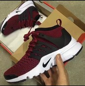 shoes,nike,nike shoes,red,nike running shoes,white,burgundy,black,maroon/burgundy,maroon shoes,maroon nike,maroon,sneakers,nike sneakers,nike air,nike roshe run,maroon nike shoes,hype,streetwear,boost,adidas ultra boost,nike running,nike presto,nike air presto,cute,cute shoes,burgundy shoes,cardigan,marroon,dark red,maroone,running shoes,dark red and white nike running shoes,prestos,trainers,smart,stylish,nikes woman's,burgundy nikes,maroon nike roshe,want need,nike flyknit,bordeaux shoes,black and white