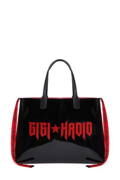 Tommy hilfiger black red bag