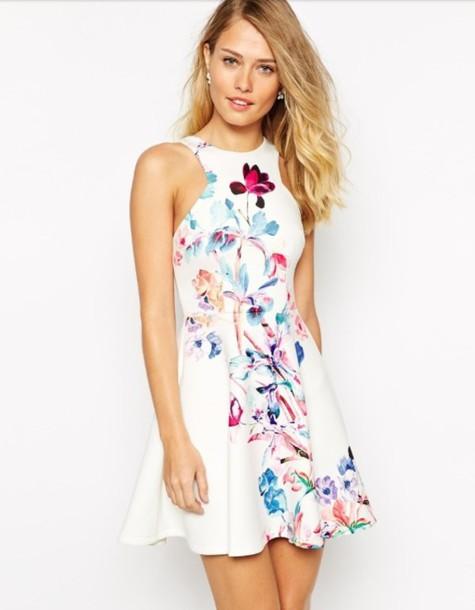 754c23d1e9f dress floral dress cute dress graduation dress prom dress summer dress