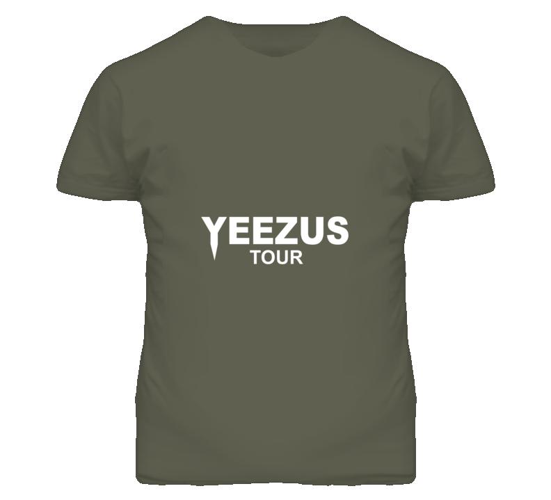 Yeezus Kim Kardashian Kanye Popular Tour T Shirt