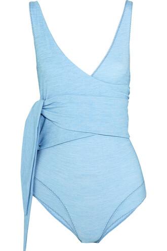 denim light swimwear