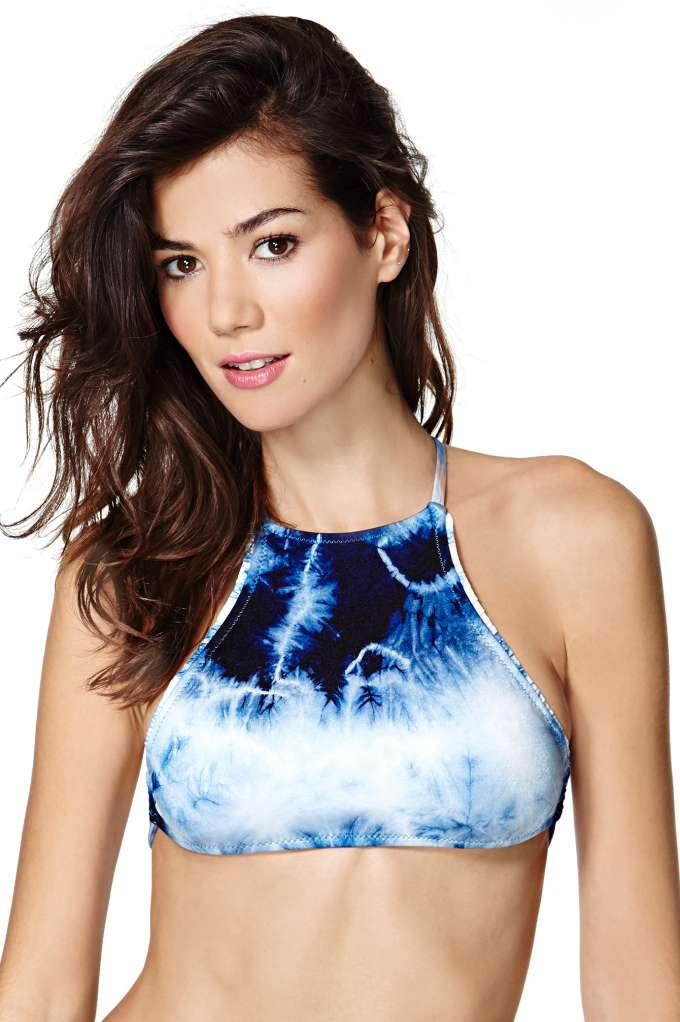 Made By Dawn Coral Bikini Top - Cloudbreak | Shop Swimwear at Nasty Gal