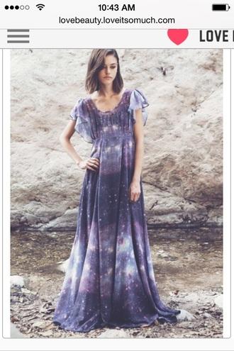 dress galaxy dress