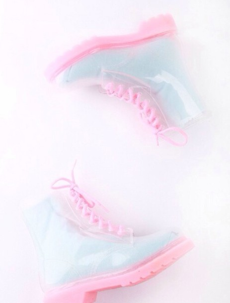 shoes socks jellyshoes boots wellies wellies combat boots pastel jellies vibrant see through shoes transparent shoes clear boots flat boots