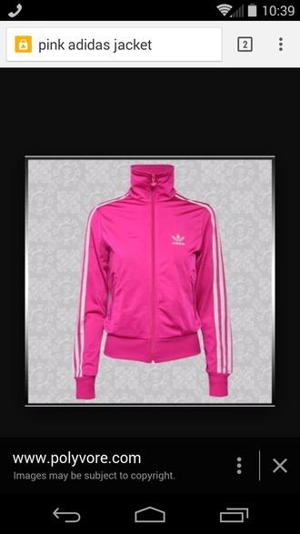 jacket pink jacket pink pink adidas pink adidas jacket adidas adidas fireball jacket dope swag
