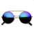 Steampunk Vintage Inspired Retro Round Circle Flip Up Frame Sunglasses