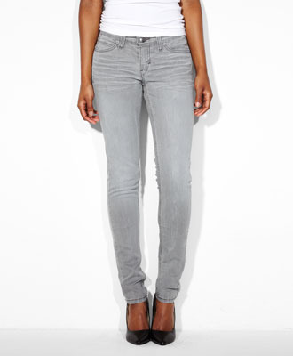 new design promo code 100% top quality Levi's Low Rise Demi Curve Skinny Jeans - Power Grey - Demi Curve