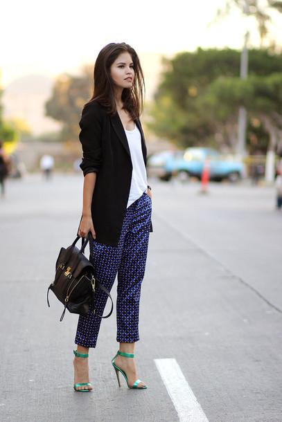 fake leather blogger jacket bag shoes jewels