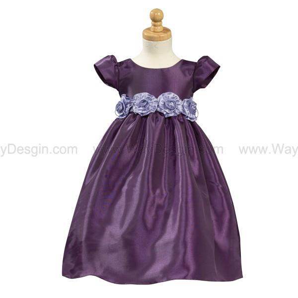 purple flower girl dress flower girl dress