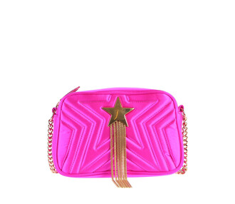 quilted bag shoulder bag pink