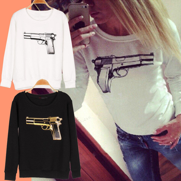 Pistol sweater · summah breeeze · online store powered by storenvy