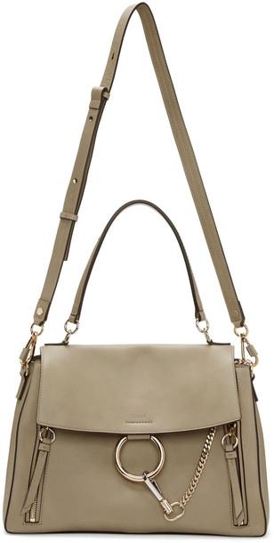 Chloe bag shoulder bag grey