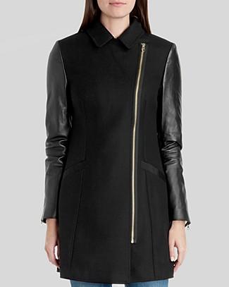 Alycia leather sleeve