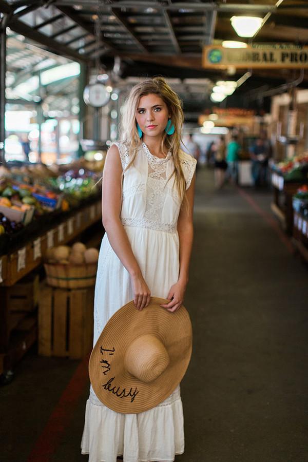 one little momma blogger dress jewels top bag hat asos