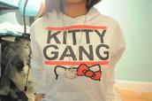 hello kitty,hoodie,jacket,white hoodie,girl,sweater