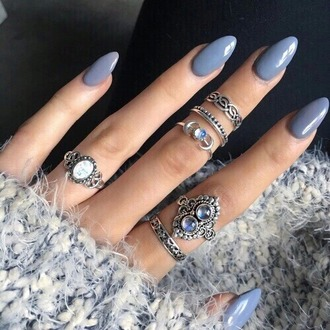 jewels jewelry knuckle ring ring rings and tings silver silver ring silver jewelry ring stack