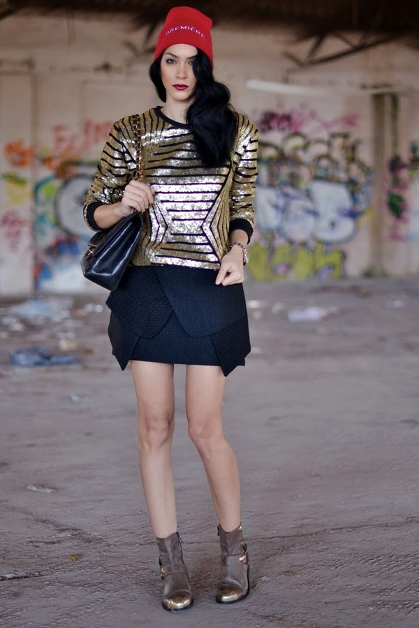 serial klother blouse skirt bag hat shoes