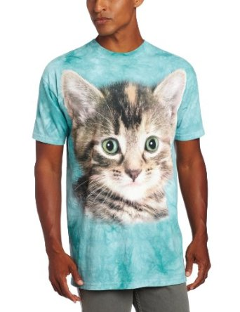 Amazon.com: The Mountain Men's Striped Kitten: Clothing