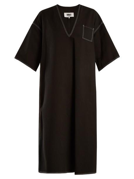 Mm6 Maison Margiela dress cotton black