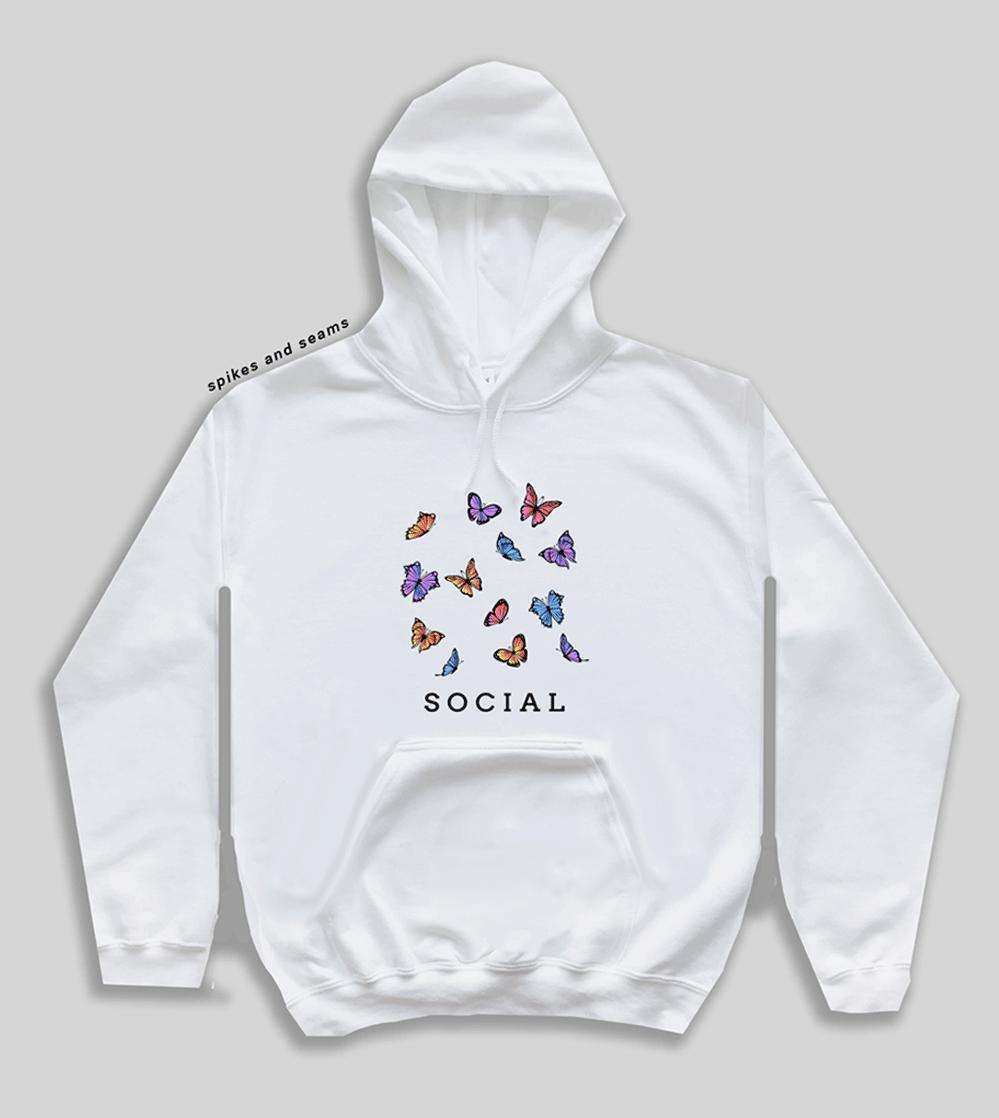 Social Butterfly hoodie