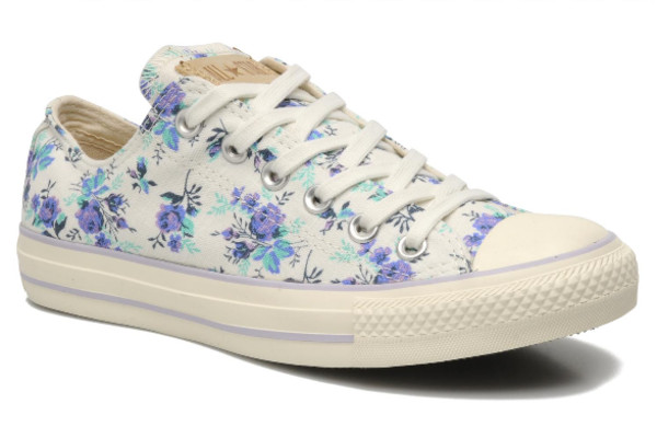 shoes converse converse flowers summer in the uk where can i get these? converse floral shoes converse low tops white flowered shoe low top sneakers floral