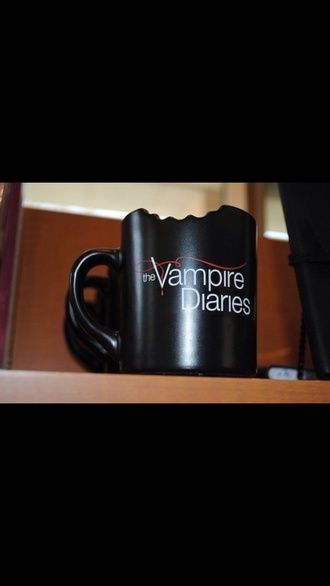 jewels the vampire diaries mug vampire bite black