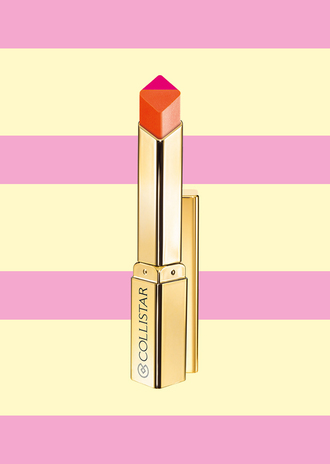 make-up collistar cosmetics bicolor lipstick pink lipstick face makeup