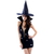 Strappy Packet Buttock Applique Devil Uniform Polyester Color Matching Halloween Cosplay Costume For Women